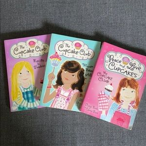 Cupcake Club set of books